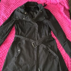Armani exchange rain coat